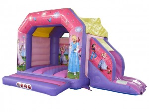 Bouncy castle Princess Combo